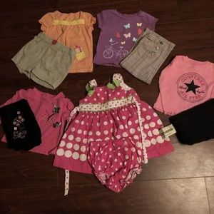 Baby girl clothes 18 months lot, Pre-owned